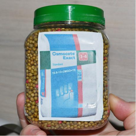 Удобрение Osmocote Exact Standard 3-4 м, 0,500 кг (пэт банка)