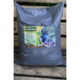 Грунт для голубики и хвойных растений, pH 3.5-4.5 пакете 20 л