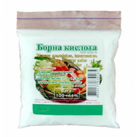 Борная кислота, 0.1 кг купить для растений
