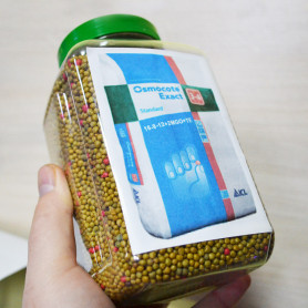 Удобрение Osmocote Exact Standard 3-4 м, 1 кг  (пэт банка)