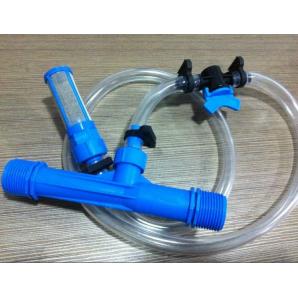 """Инжектор Вентури 1/2"""" комплект для внесения удобрений"""