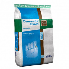 Удобрение Osmocote Exact Standard 15+9+12+2Mg+TE срок 5-6 м, мешок 25 кг