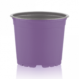 Цветочный горшок TEKU 0,69 л, d-12х9.4-h см Сирень