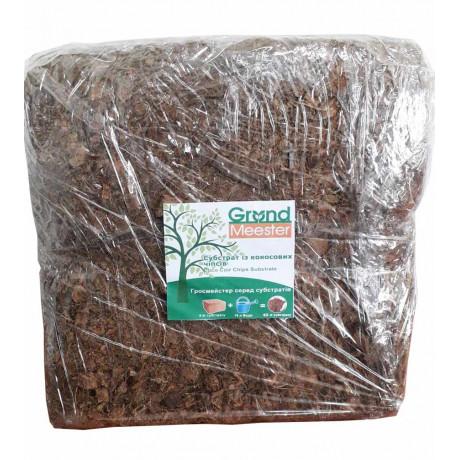 Кокосовый субстрат 4,5 кг 30х30х15 см, 100% чипс