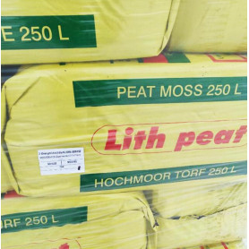 "Верховой торф ""Lith Peat"" 3.5-4.5 pH, фр. 0-10 мм, 250 л (Rėkyva)"