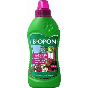 Удобрение минеральное для балконных растений Biopon, 500 мл