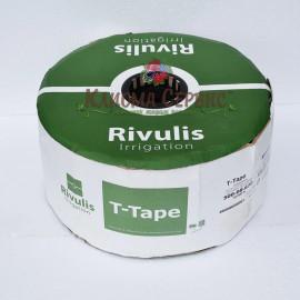 Капельная лента T-Tape 6 mil, 20 см, 3050м, Rivulls (США)