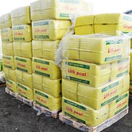 "Верховой торф ""Lith Peat"" 3.5-4.5 pH, фр. 0-7 мм, 250 л (Rėkyva)"