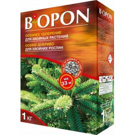 Минеральное удобрение Biopon для хвойных, 1 кг