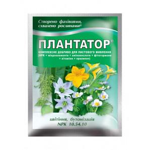 """Плантатор 10-54-10 """"Цветение, бутонизация"""" 25 г (шт.)"""