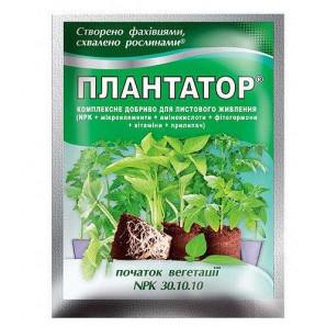 """Плантатор 30-10-10 """"Начало вегетации"""" 25 г (шт.)"""