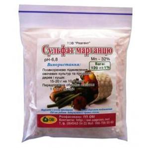 Сульфат марганца, 0.12 кг