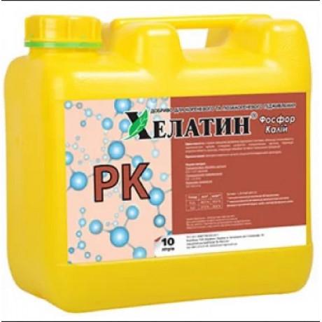 Удобрение Хелатин Фосфор-Калий 10 л