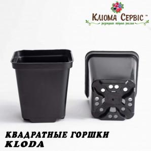 Горшки для рассады 1 л (кв), KLODA (Польша)