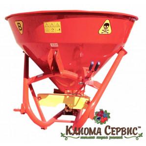 Разбрасыватель минеральных удобрений JAR-MET 500 кг (Металл)