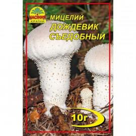 Мицелий гриба Дождевик съедобный, 10 гр