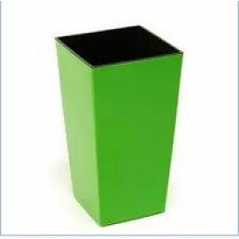 """Кашпо для цветов """"Финезия"""" (140*140*260), светло-зеленый"""