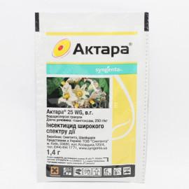 Инсектицид Актара 25 WG в.г., 1,4 гр